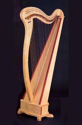 Aoyama lever harp - love, love, love