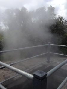 Steam vent. Facial anyone?