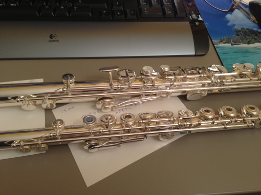 Flutetastic work of art. Love those keys!